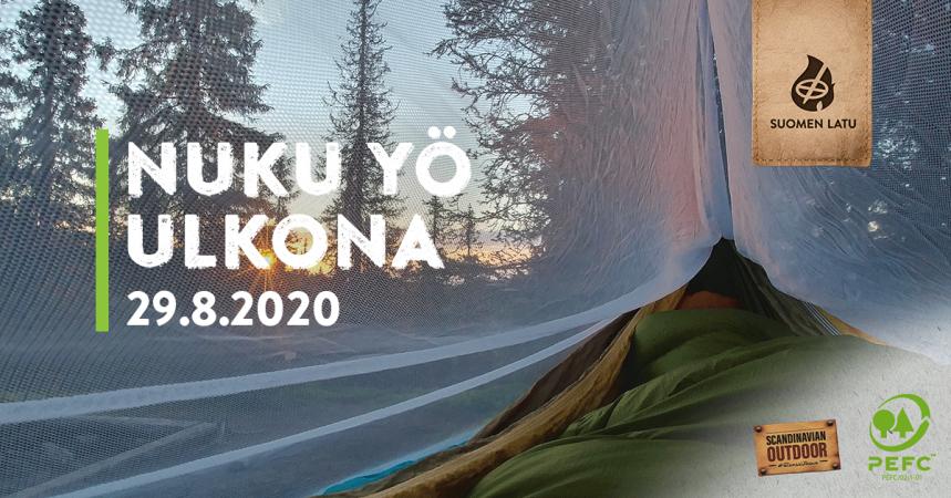 Nuku yö ulkona Pirkkolassa 29.8.2020